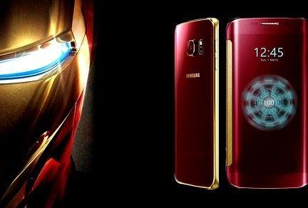 Galaxy S6 Edge Iron Man Edition