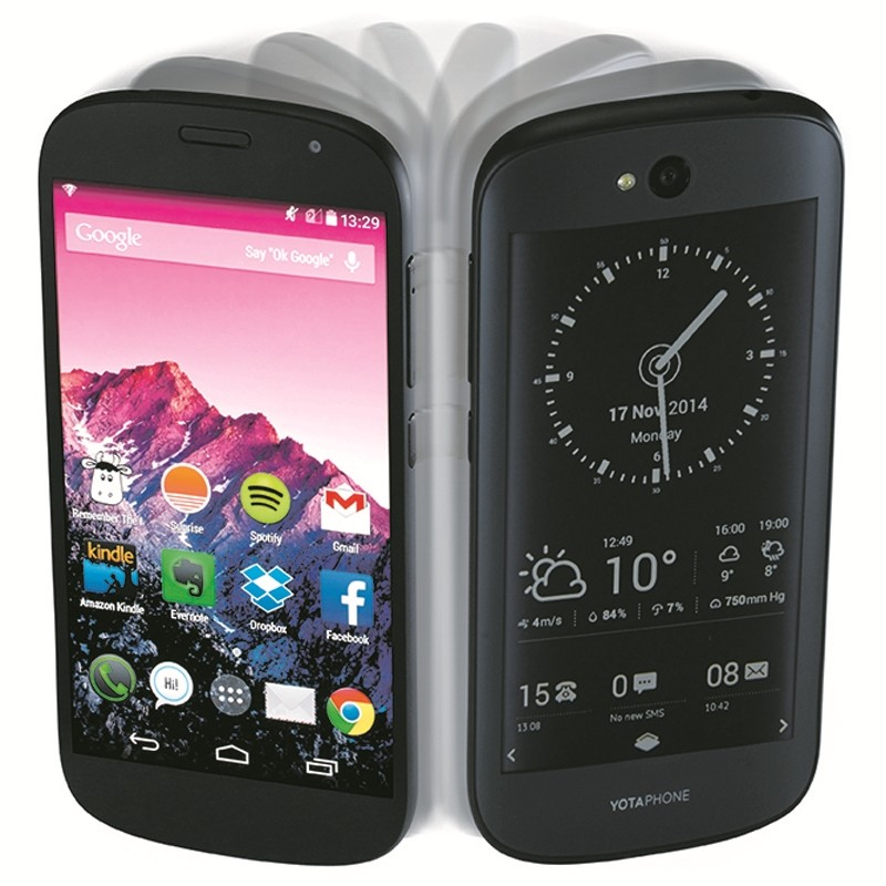 YotaPhone 2 both