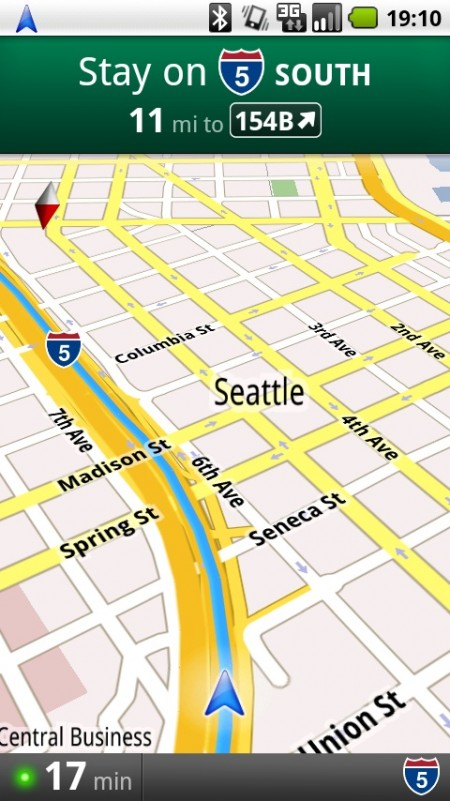 Google Maps for Android - Navigation