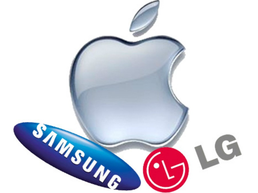 Apple vs Samsung vs LG