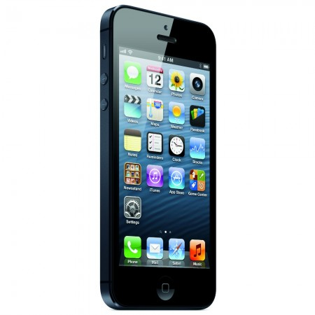 Apple iPhone 5 - Vedere din fata/ stanga
