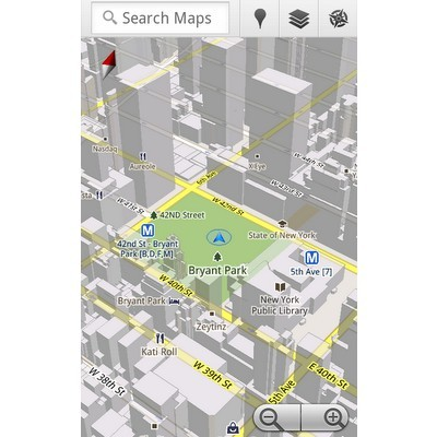 Google Maps 5.0 - Android