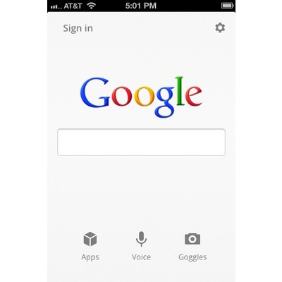 Google Search - iPhone