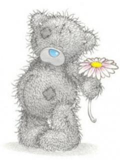 Ursulet cu floare