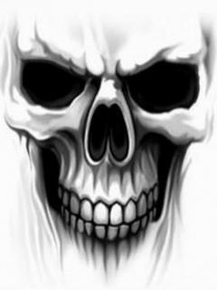Craniu de om mort