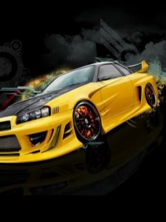 Foto Mobil Nissan Skyline on Nissan Skyline Carbon Uploader Bad Boy2009 Marime 240x320 Px 10 65 Kb