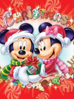 Mini si Mickey Mouse Craciun